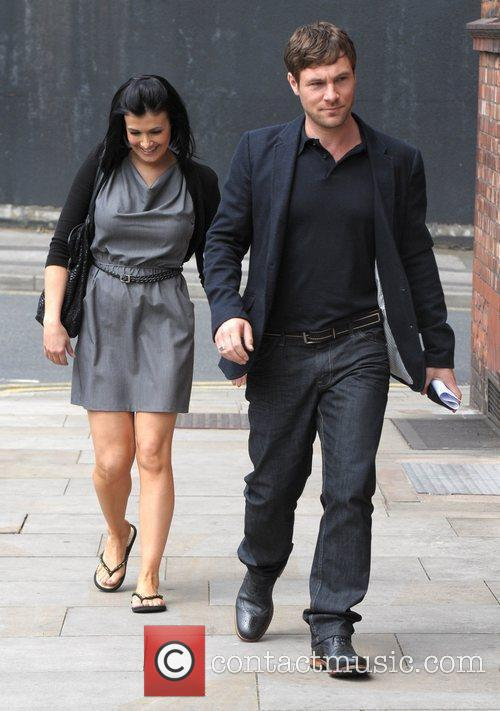 Kym Marsh and Granada Studios 4