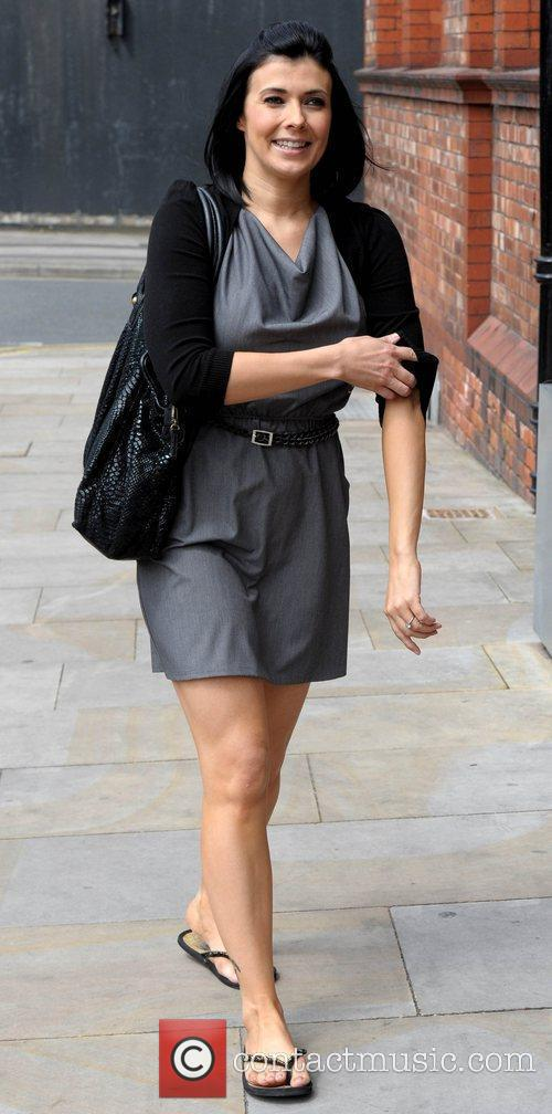 Kym Marsh and Granada Studios 6