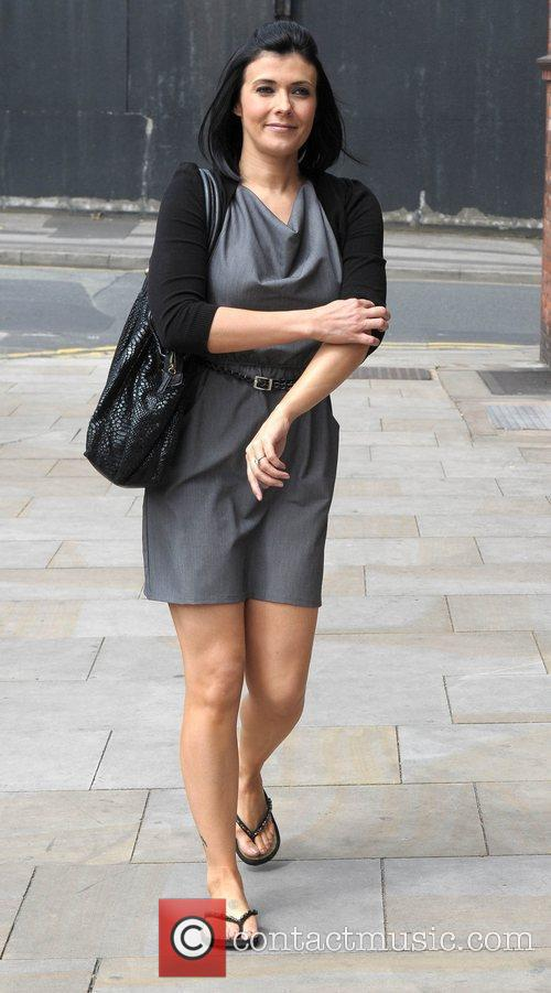 Kym Marsh and Granada Studios 8