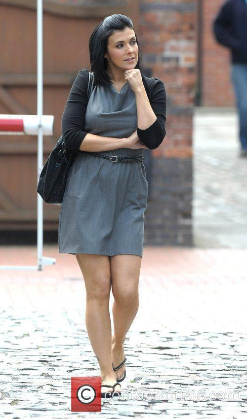 Kym Marsh and Granada Studios 9
