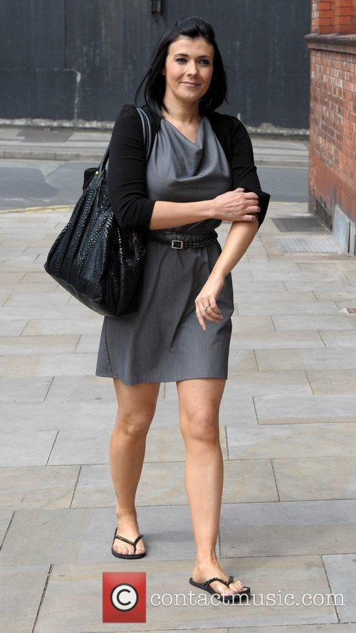 Kym Marsh and Granada Studios 10