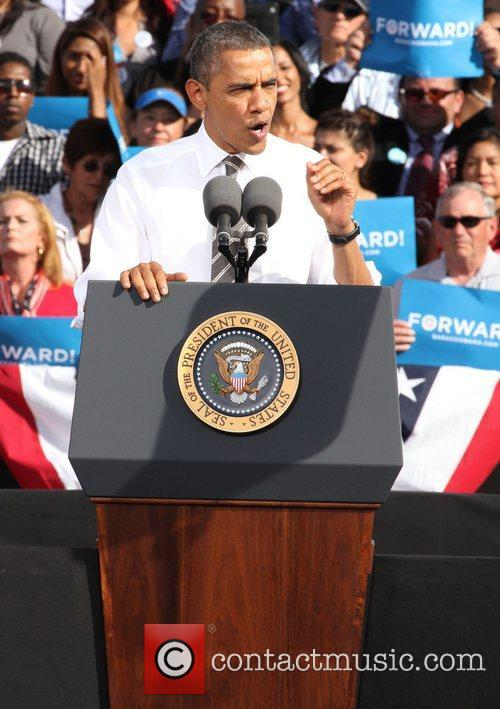 Grassroots rally in support of U.S. President Barack...
