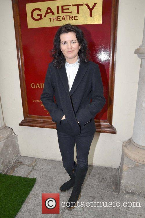 Deirdre O'Kane Cast members launch the world premiere...