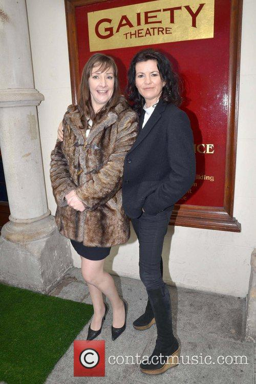 Pauline McLynn, Deirdre O'Kane Cast members launch the...
