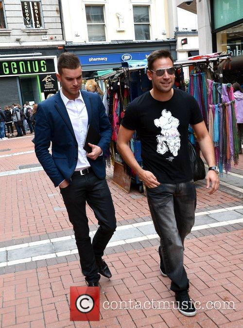 Geordie's Shore's Greg Lake spotted walking on Grafton...