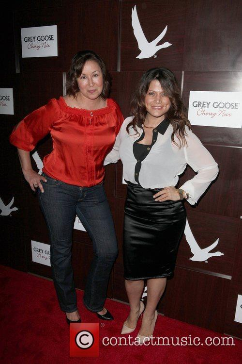 Christine Squillante and Anne Marie Hotel Noir launch...