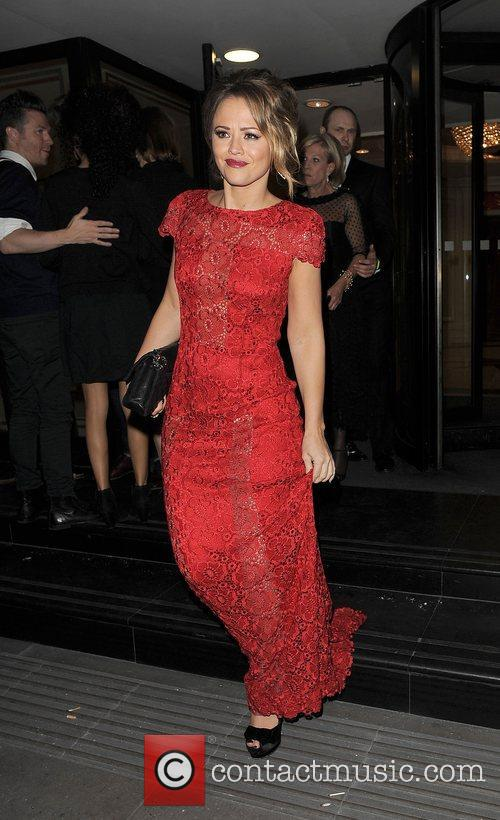 Kimberley Walsh and Grosvenor House Hotel 6