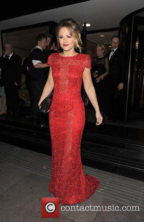 Kimberley Walsh and Grosvenor House Hotel 10
