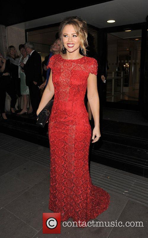 Kimberley Walsh and Grosvenor House Hotel 1