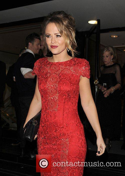 Kimberley Walsh and Grosvenor House Hotel 2