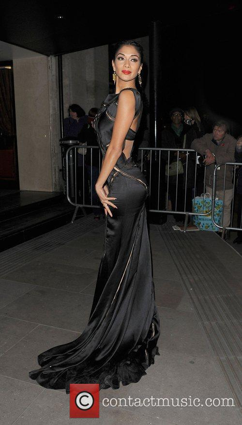 Nicole Scherzinger and Grosvenor House Hotel 9