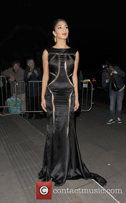 Nicole Scherzinger and Grosvenor House Hotel 6