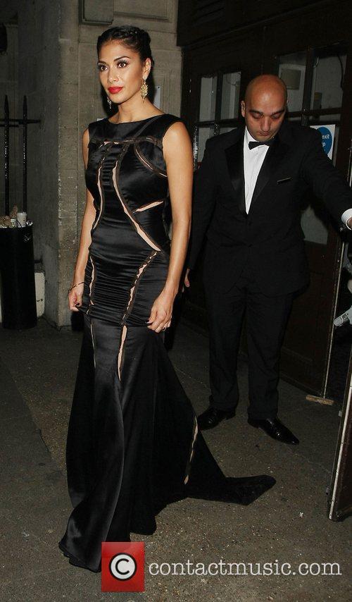 Nicole Scherzinger, Grosvenor House Hotel and Music Industry Trust Awards 2