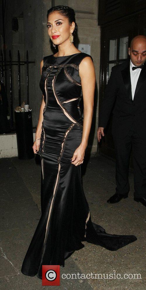 Nicole Scherzinger, Grosvenor House Hotel and Music Industry Trust Awards 3