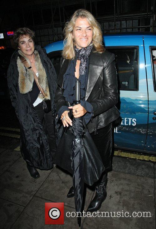Tracey Emin at the Groucho Club in Soho