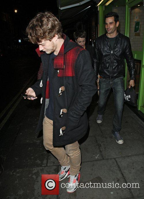 Alfie Allen leaving the Groucho Club. London, England