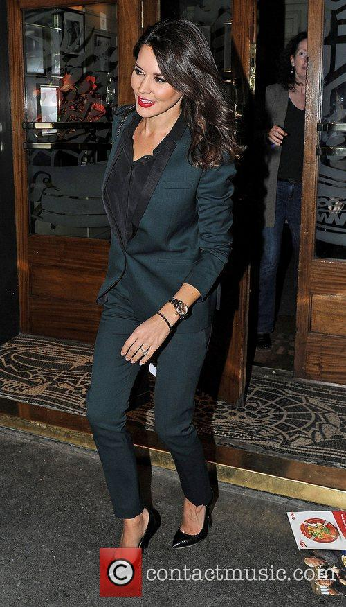 Danielle Lineker, Groucho Club and Soho 2