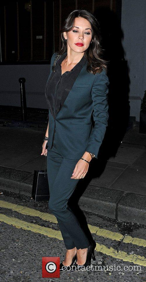 Danielle Lineker, Groucho Club and Soho 3