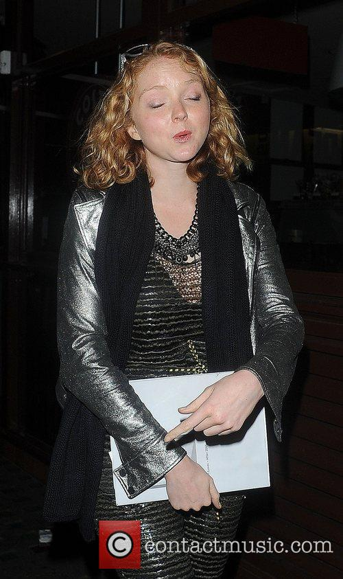 Lily Cole, Groucho Club and Soho 6