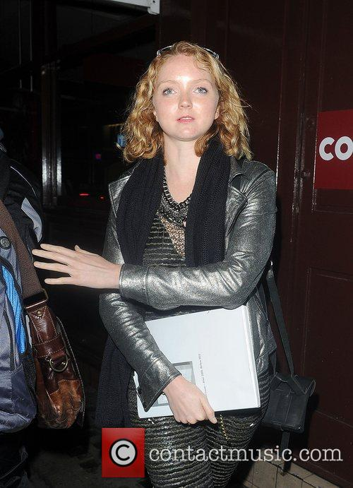 Lily Cole, Groucho Club and Soho 1