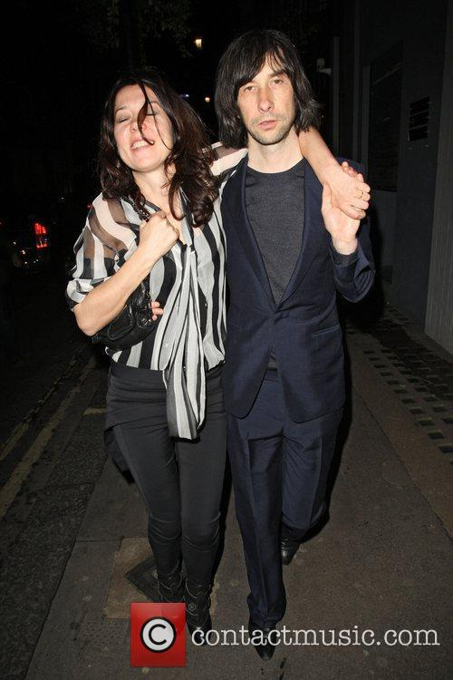 Bobby Gillespie and Groucho Club 1