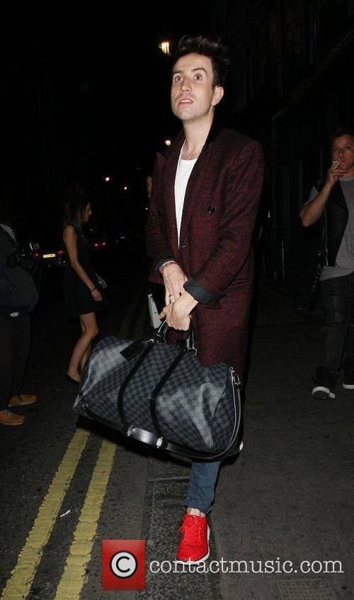 nick grimshaw outside the groucho club london 4058648