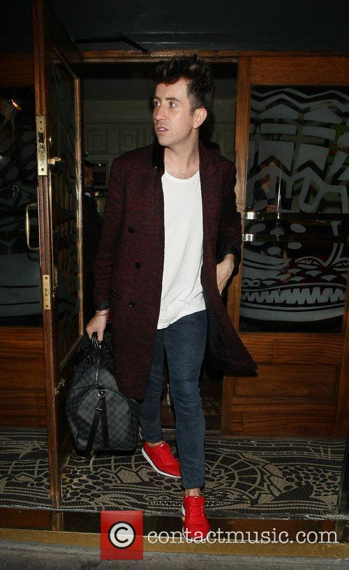 nick grimshaw outside the groucho club london 4058655