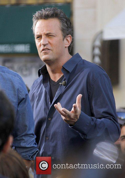 Matthew Perry Talking The Grove