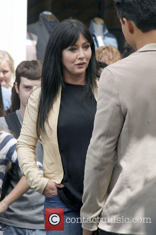 Shannon Doherty at The Grove to appear on...