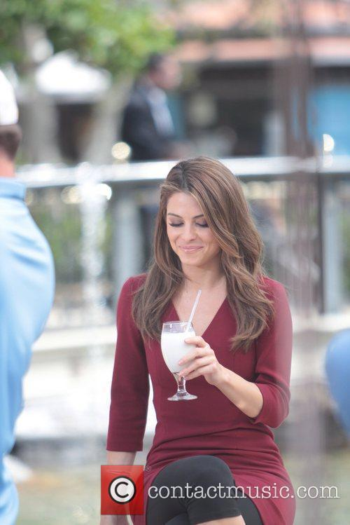 maria menounos celebrities at the grove to 5823935