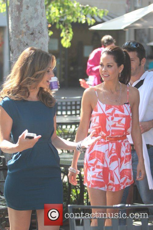 Brooke Burke and Maria Menounos 3