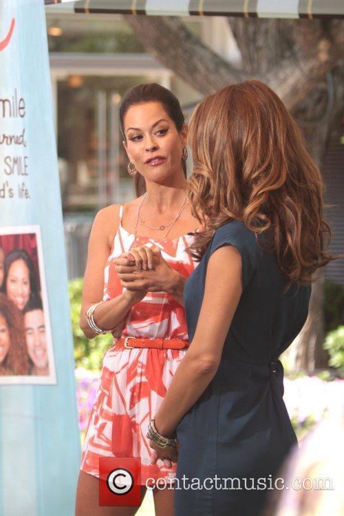 Brooke Burke and Maria Menounos 5