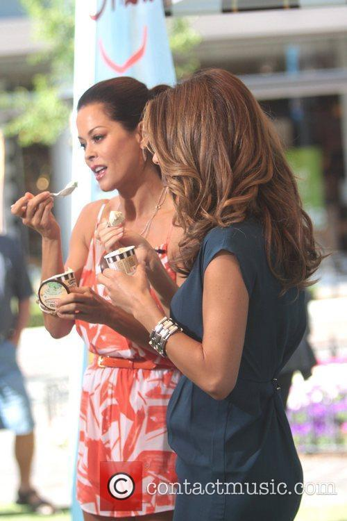 Brooke Burke and Maria Menounos 6