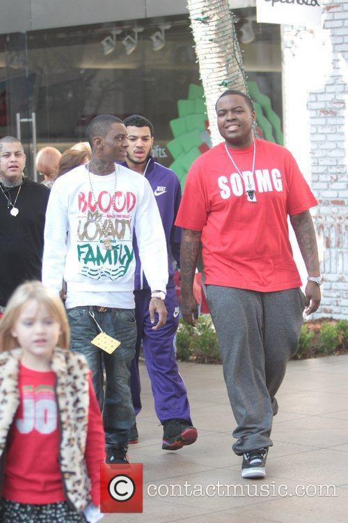 Soulja Boy and Sean Kingston 6