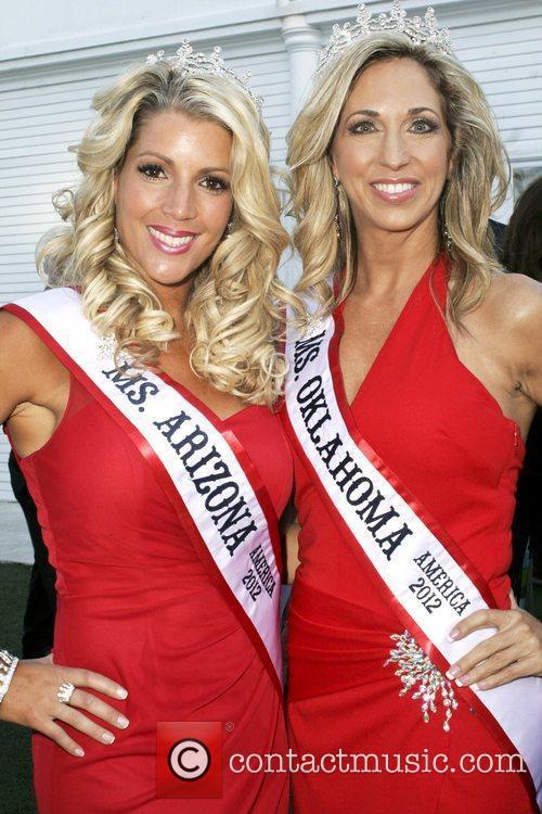 Miss Arizona, Miss Oklahoma Miss America contestants attend...