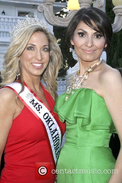 Miss Oklahoma, Dr. Sedrati Miss America contestants attend...