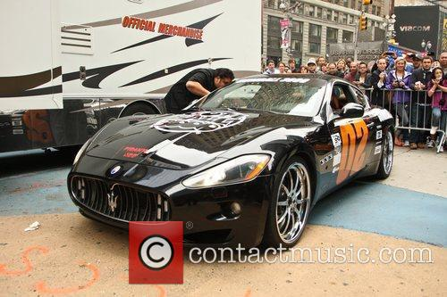 The Gumball 3000 International Car Rally starting point...