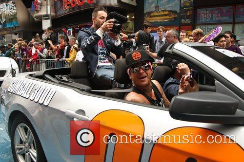 Matt Pritchard and Times Square