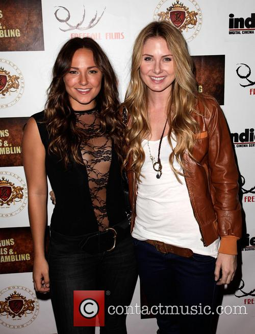 Briana Evigan and Vanessa Evigan 'Guns, Girls &...