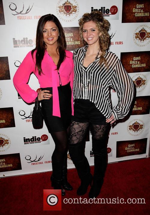 Jaclyn Marfuggi and Caroline Heinle 'Guns, Girls &...