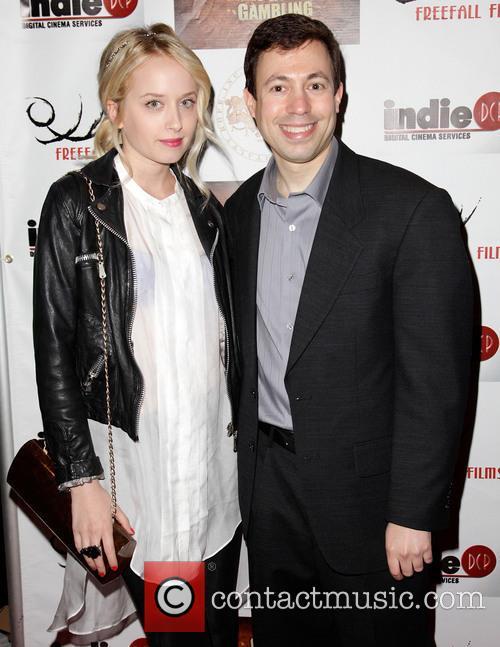 Megan Park and director Michael Winnick 'Guns, Girls...