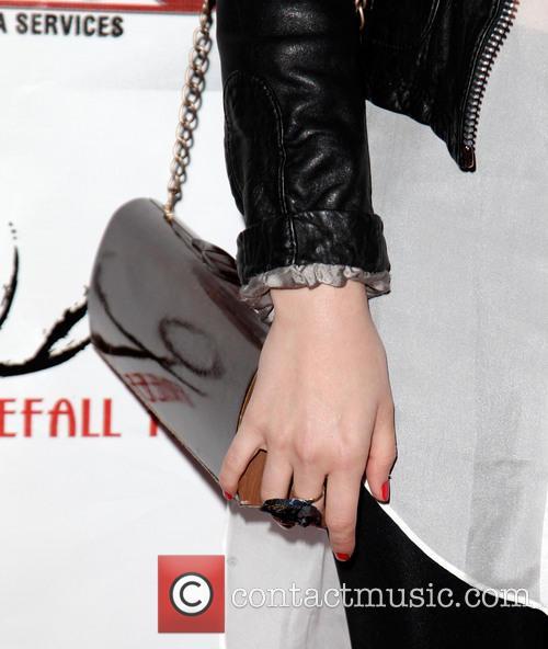 Megan Park (purse detail) 'Guns, Girls & Gambling'...