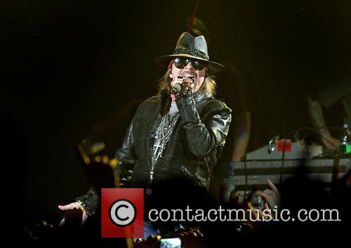 Axl Rose and Liverpool Echo Arena 36
