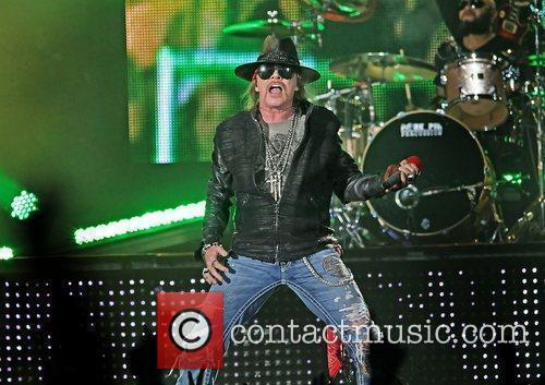Axl Rose and Liverpool Echo Arena 14