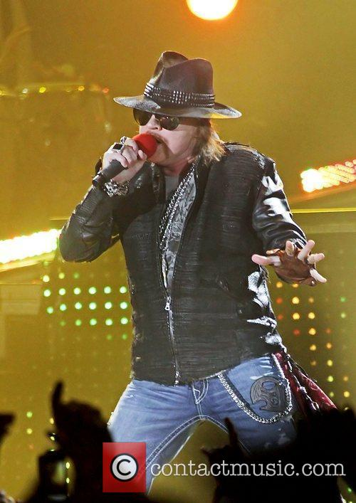 Axl Rose and Liverpool Echo Arena 15