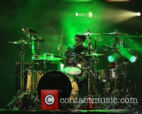 Frank Ferrer  Guns and Roses perform at...