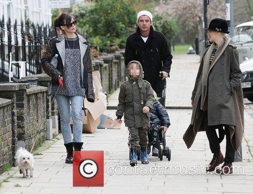 Gwen Stefani, Gavin Rossdale, Kingston, Zuma and Daisy Lowe 6