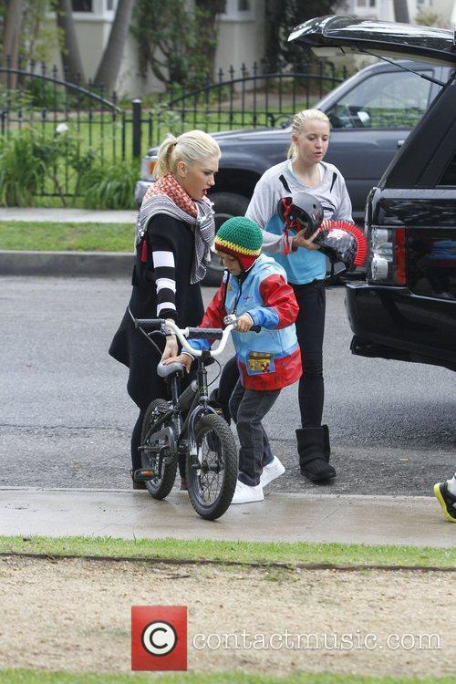 Gwen Stefani and Kingston Rossdale  Gwen Stefani...