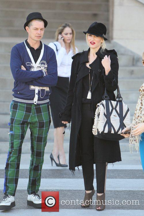 Adrian Young and Gwen Stefani 1
