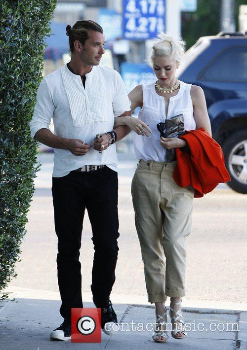 gwen stefani and gavin rossdale arrive at 3948410